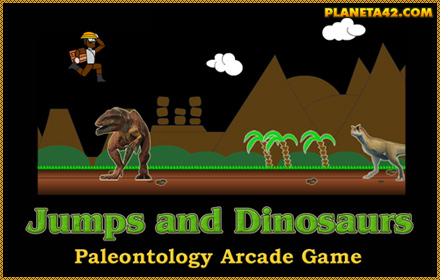 Jump and Dinosaurs Game
