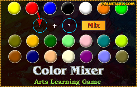 Color Games | Online Learning Games