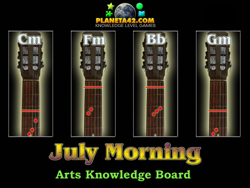 July Morning | Arts Learning Game