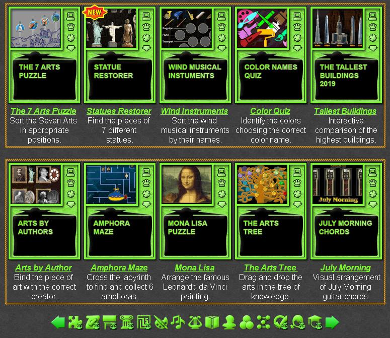 Art Games   Online Learning Games