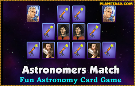 Astronomers Match Game