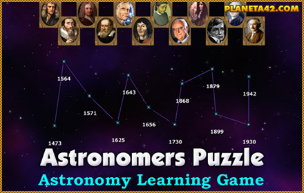 Astronomers Puzzle Game