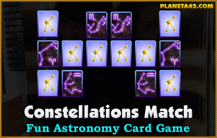 Constellations Match Game