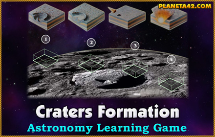 Craters Formation Game