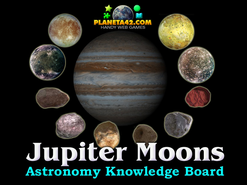 Jupiter Moons Astronomy Class Game