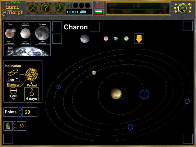 Kerberos Moon Of Plluto: Astronomy Class Game