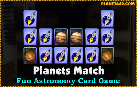 Planets Match Game