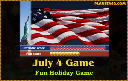 July 4 Independance Day Game