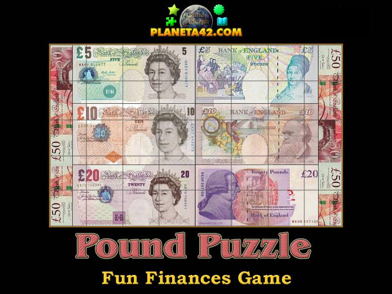 British Pound Puzzle Picture
