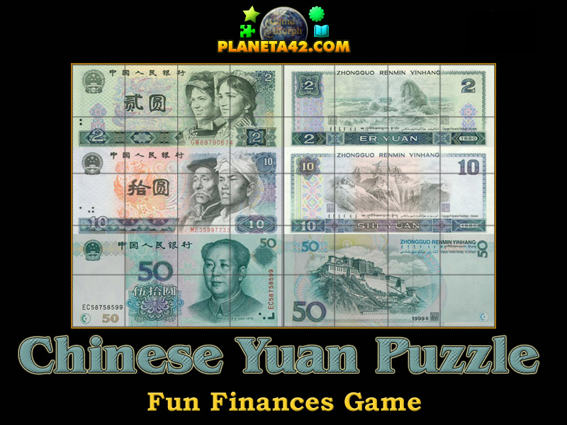 Chinese Yuan Puzzle Picture