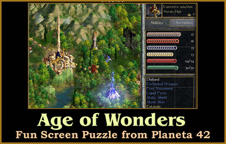 Age of Wonders 2 Puzzle