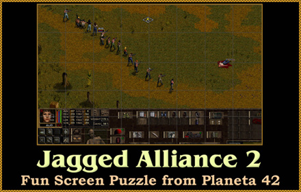 Jagged Alliance 2 Screen Puzzle