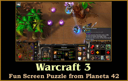 Warcraft 3 Screen Puzzle