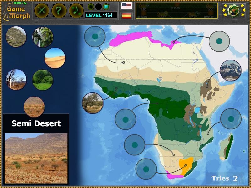 Prirodni Zoni Na Afrika Pzel Zabavna Obrazovatelna Igra