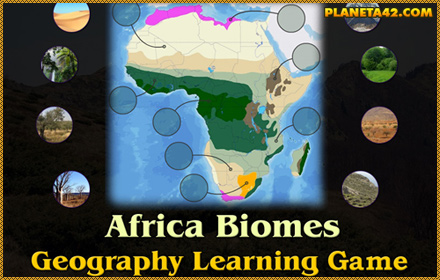 Africa Biomes Puzzle
