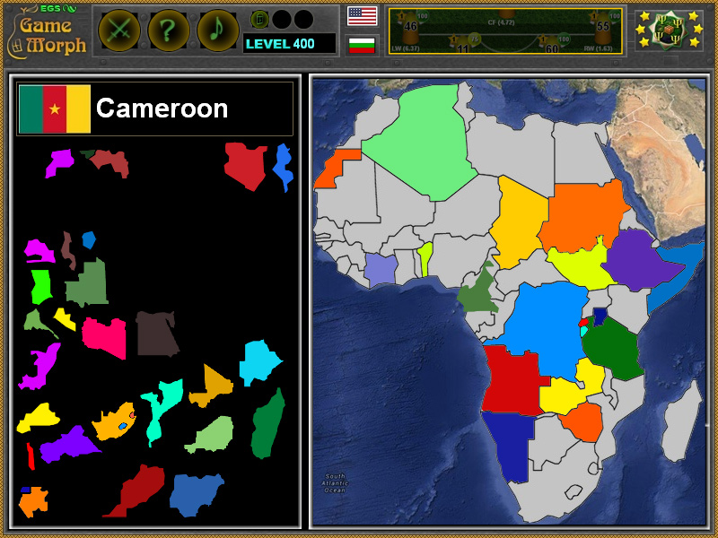 Africa Puzzle 2016 Geography Online Game