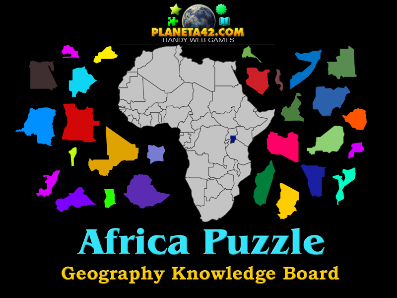Map Of Africa Games.Africa Puzzle 2016 Geography Online Game
