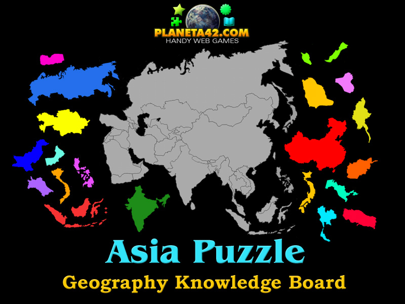 Asia puzzle 2016 online geography game asia puzzle picture gumiabroncs Gallery