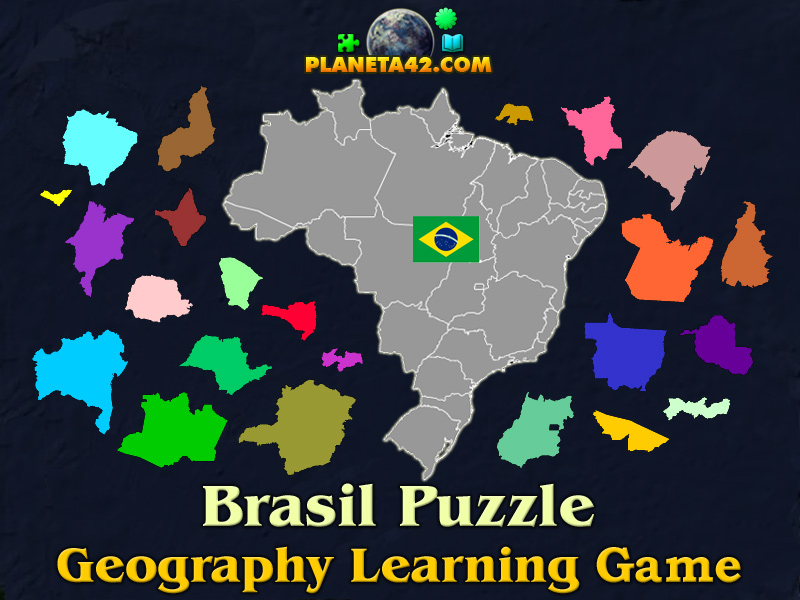 Brasil puzzle geography learning game brasil puzzle picture gumiabroncs Choice Image