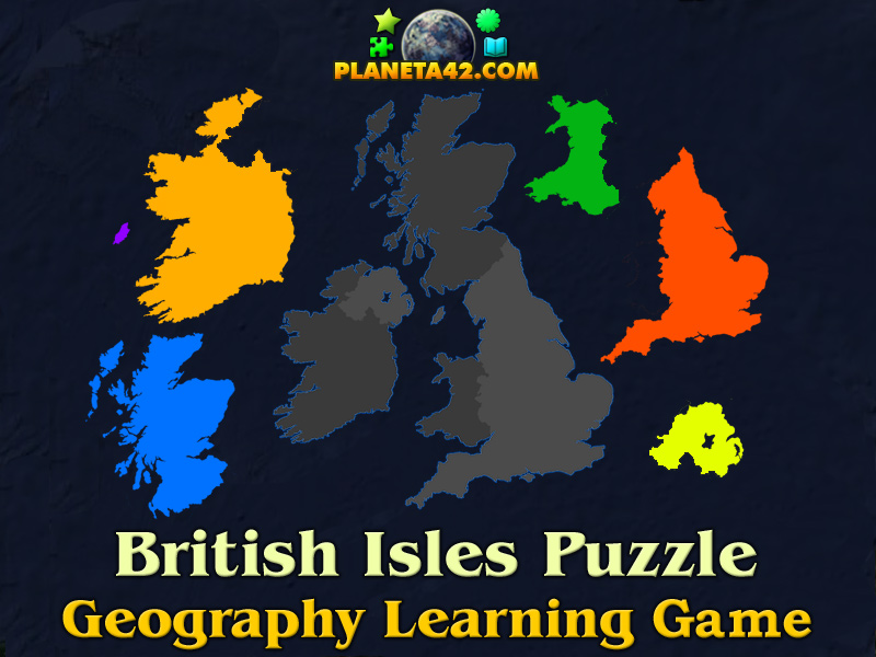 British isles online puzzle geography learning game british isles online puzzle picture gumiabroncs Choice Image