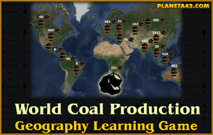 World Coal Production Game