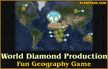 World Diamond Production Game