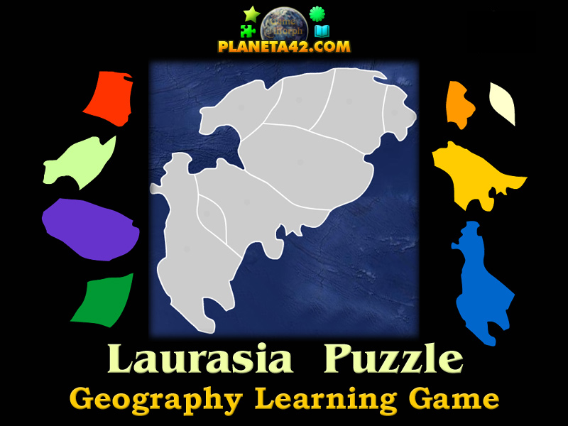 Laurasia puzzle geography learning game laurasia puzzle picture gumiabroncs Choice Image