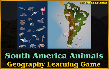 Animals of South America Puzzle