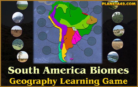 South America Biomes Puzzle