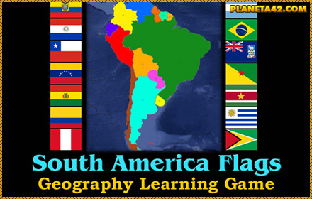 Flags of South America Quizz