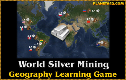 World Silver Production Game