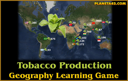 World Tabacco Production Game