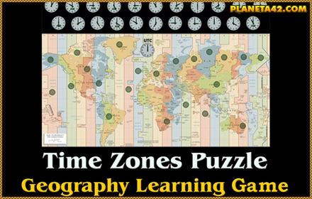 Time Zones Puzzle