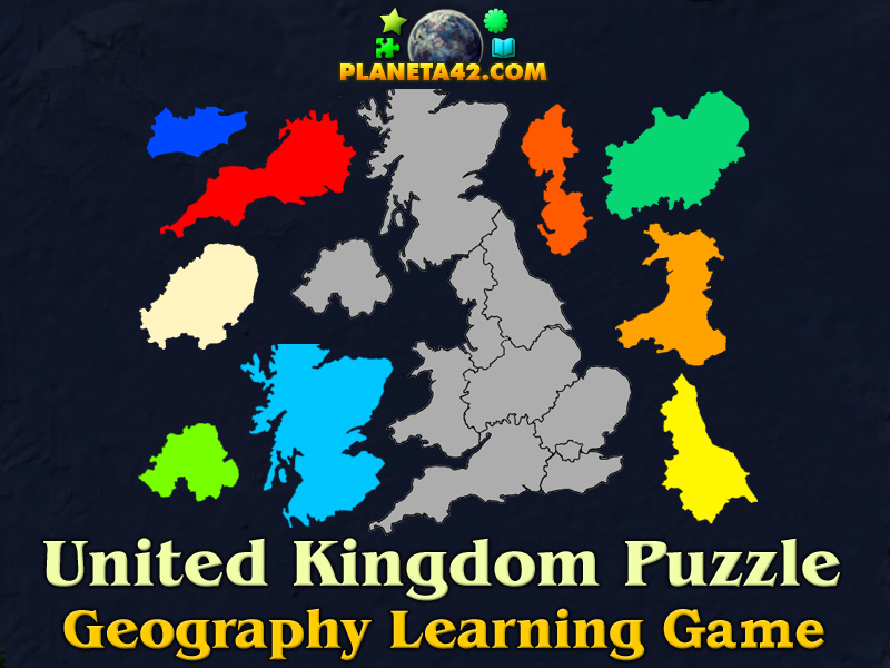 united kingdom online puzzle picture