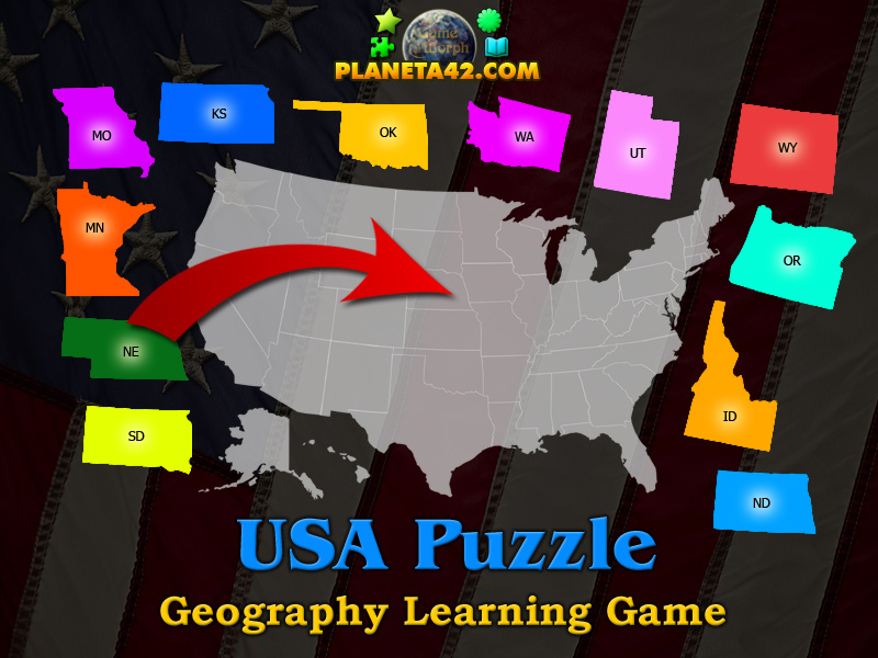 USA Puzzle | Geography Learning Game on 50 states magnets, 50 states stickers, 50 states colors, 50 states homework, 50 states vocabulary, 50 states clip art, 50 states coloring, 50 states and capitals puzzle, 50 states math, 50 states printable,