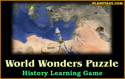 7 World Wonders Puzzle