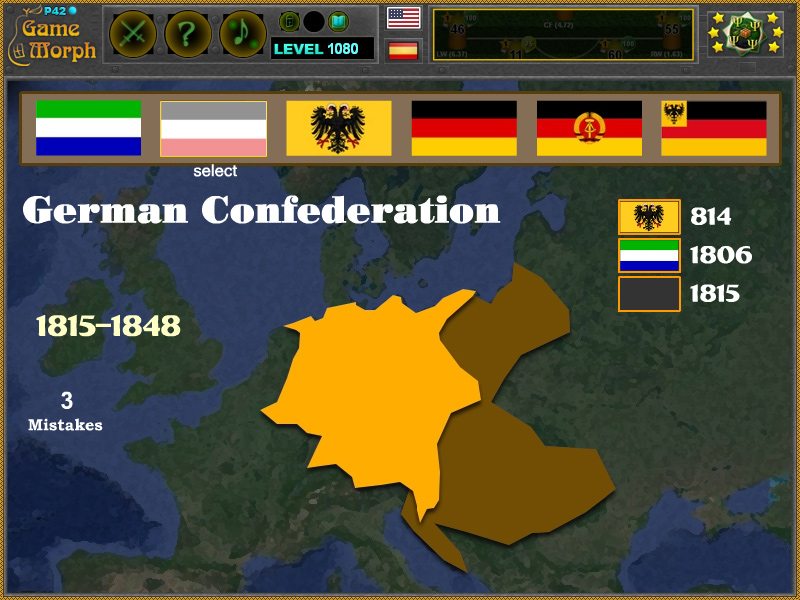 History of German Flag | History Learning Game