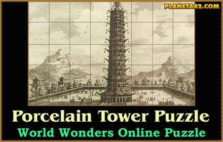 Porcelain Tower of Nanjing Puzzle