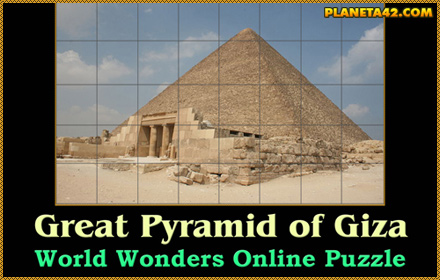 Great Pyramid of Giza Puzzle