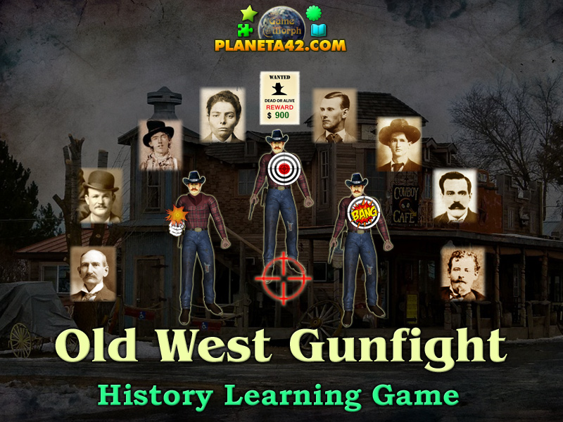 Wild West Outlaws | History Learning Game