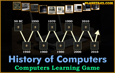History of Computers Game