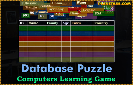 Database Puzzle Game