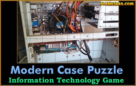 Modern Computer Case Puzzle