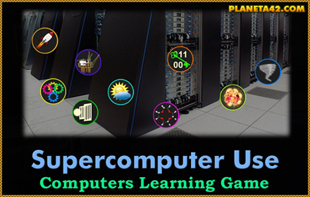 Supercomputer Applications Game