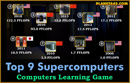 Top 9 Supercomputers Game