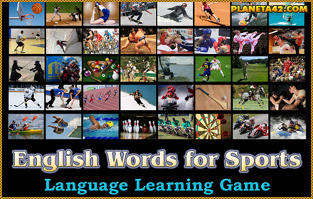 English Words for Sports