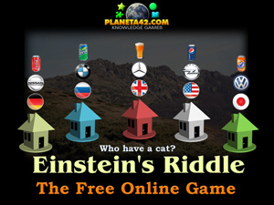 Einstein's Riddle Mobile