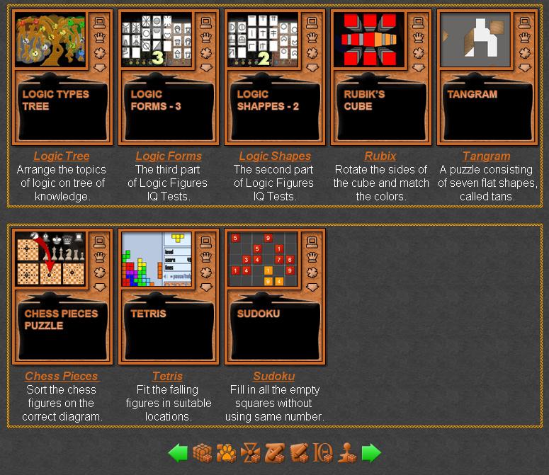 Logic Puzzles | Online Logic Games
