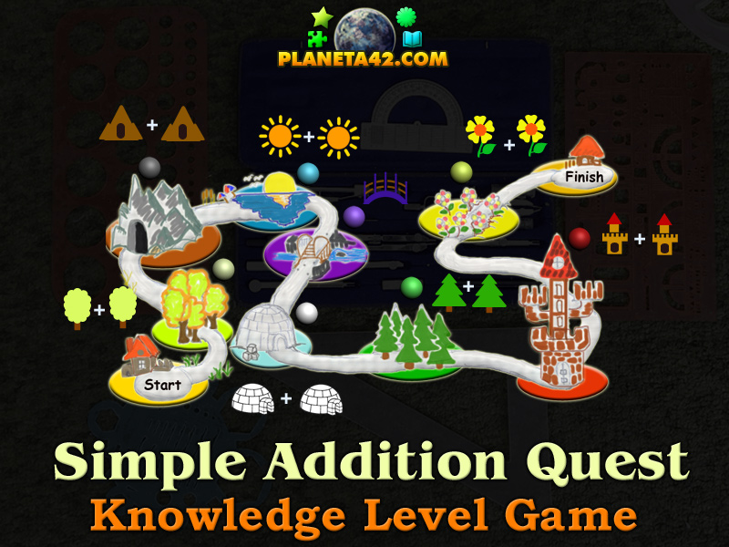 Addition Quest Game Picture