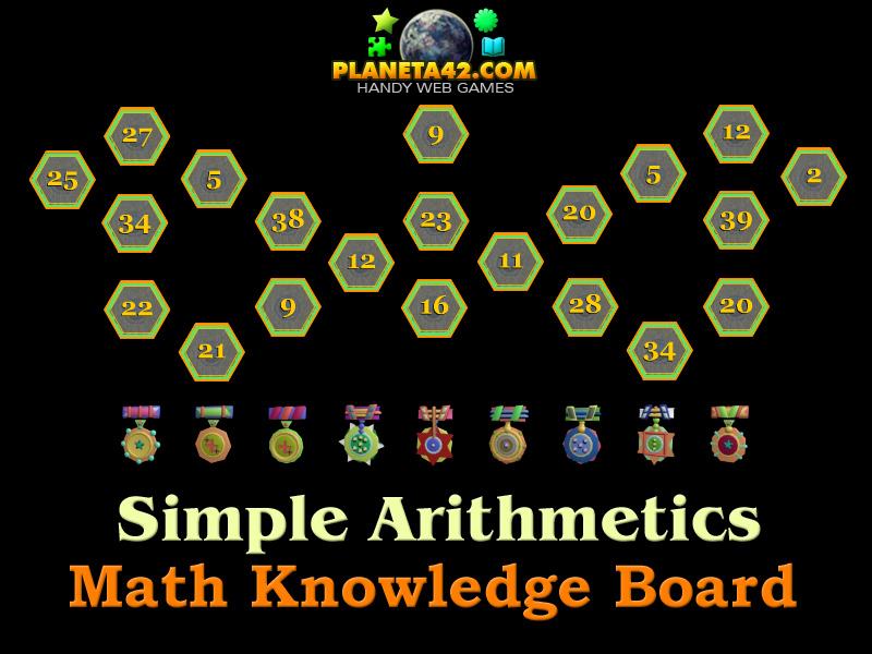 Simple Arithmetics | Math Practice Game